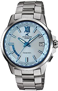 [カシオ]CASIO 腕時計 OCEANUS ClassicLine 世界6局対応電波ソーラー時計 OCW-T150-2AJF メンズ