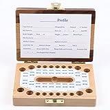 BLUE TEETH 乳歯ケース 出産祝い 記念 大切な成長の保存に Bタイプ