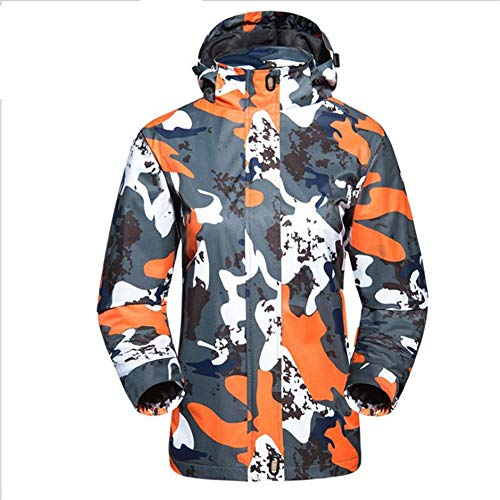 Easylifee スキージャケット スキーウェア レディース メンズ 防風 保温 多機能 狩猟 釣...