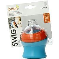 Boon - Petit Gobelet Swig Orange Bleu 10x 8x 8cm
