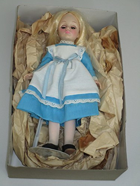 1978 Effanbee 28cm Alice in Wonderland Doll w/ stand