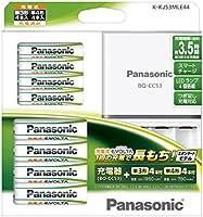 パナソニック 充電式EVOLTA ファミリーセット単3形充電池 4本・単4形充電池 4本 K-KJ53MLE44