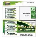 パナソニック 充電式EVOLTA ファミリーセット 単3形充電池 4本 単4形充電池 4本K-KJ53MLE44
