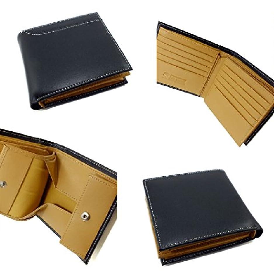 明確なピストルゲインセイジョンハリソン JOHN HARRISON 二つ折り 短財布 JWT-012CBK ブラック