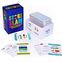 Story Slam - A Game of Storytelling and Imagination. Hundreds of cards with more than 600 unique story concepts, for