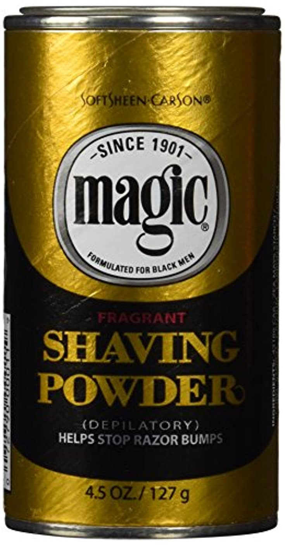 個性合理化ラッチメンズひげ脱毛ゴールドシェービングパウダー 香り付き 133ml (並行輸入品)