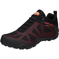 (シャングアン) XIANG GUAN トレッキングシューズ メンズ 登山靴 大きいサイズ 通気性 耐磨耗 衝撃吸収 軽量 アウトドア ハイキング スニーカー ランニングシューズ