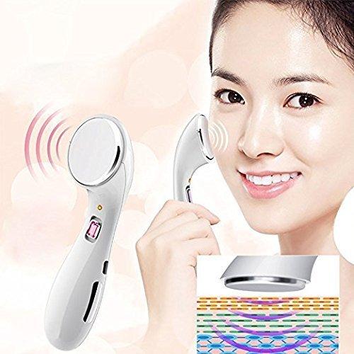 PowerLead超音波美容マッサージ、振動マッサージホワイトニング締め、ディープクレンジング洗顔、しわを削除します