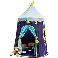 LYNICESHOP ポータブル子供用ティーピー、お子さまのインディアン城テント 屋内外用