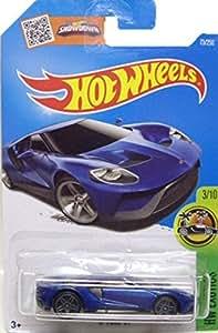 2016 ホットウィール HOTWHEELS フォード 17 FORD GT BLUE [並行輸入品]