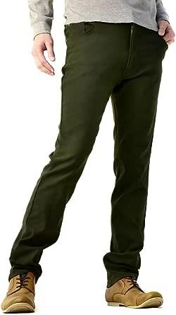 (フラグオンクルー) FLAG ON CREW 超ストレッチ パンツ メンズ テーパードパンツ スーパーハイテンション生地 / B4O
