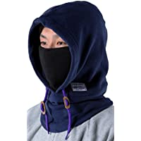 purplecow(パープルカウ) 防寒 フードウォーマー 全4色 フリース フード 付き ネックウォーマー ボア付き PCA-1901F