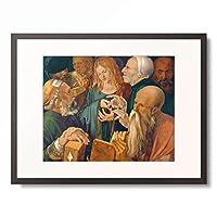 アルブレヒト・デューラー Albrecht Durer 「Jesus among the Scribes」 額装アート作品
