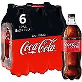Coca-Cola No Sugar PET 6 x 1.25L