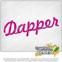 ダッパデザイン1 Dapper Design 1 20cm x 6,5cm 15色 - ネオン+クロム! ステッカービニールオートバイ