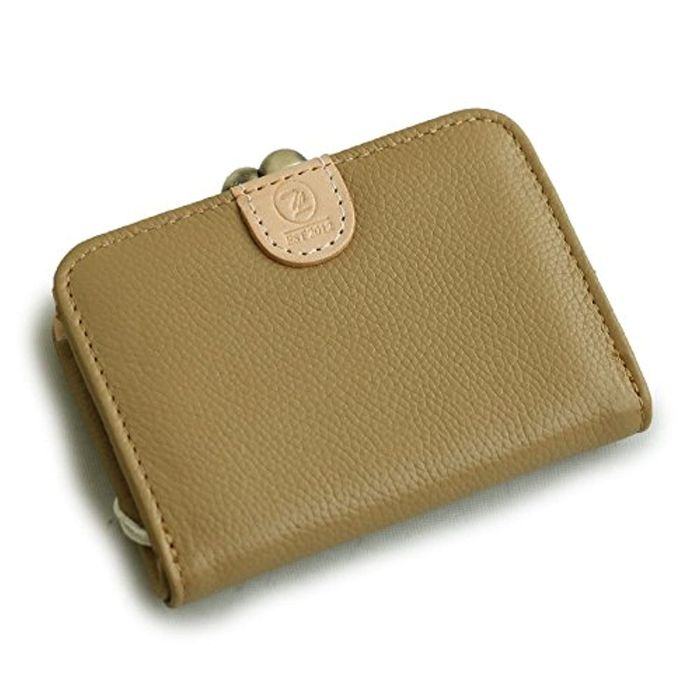 (トーラ) toleur 小銭入れ がま口 財布 コインケース カウレザー 牛革 コンパクト 片手サイズ 仕切り