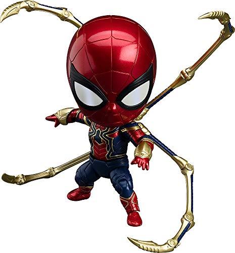 ねんどろいど アベンジャーズ/インフィニティ・ウォー スパイダーマン インフィニティ・エディション ノンスケール ABS&PVC製 塗装済み可動フィギュア