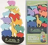 シードバランス動物園の動物ゲーム消しゴムセット