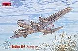 ローデン 1/144 ボーイング307ストラトライナー 与圧旅客機 トランスワールド航空 プラモデル 014T339