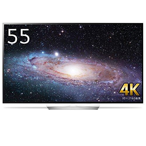 LG 55V型 4K 有機ELテレビ OLED B7P B7シリーズ HDR対応 有機ELパネル Wi-Fi内蔵 (2017年モデル) OLED55B7P