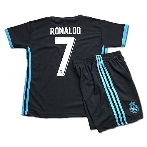 サッカーユニフォーム 2018モデル レアルマドリード アウェイ クリスティアーノ・ロナウド 背番号7 レアルマドリッド レプリカサッカーユニフォーム 子供用 M