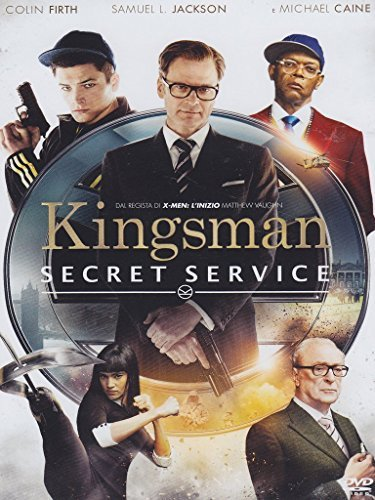 kingsman - secret service dvd Italian Import by colin firth