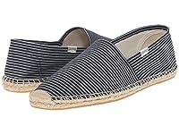[ソルドス] Soludos メンズ Original Stripe ボートシューズ Denim Blue/White US10(28cm) - D - Medium [並行輸入品]