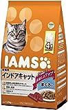 アイムス (IAMS) 成猫用 インドアキャットまぐろ味 1.5kg(375g×4袋) [キャットフード・ドライ]