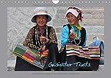 Gesichter Tibets (Wandkalender 2018 DIN A4 quer): Tibet - Tradition und Anmut in der Heimat des Dalai Lama (Monatskalender, 14 Seiten )