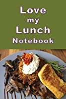 Love my Lunch Notebook: Tempt your tastebuds with this delicious looking composition notebook. It is a handy size to take with you to your favorite cafes and restaurants to jot down the ingredients.