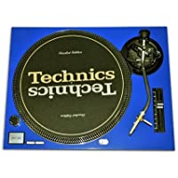 Technics Blue Face Plate for Technics SL-1200 / SL-1210 MK2 Turntables by Quality