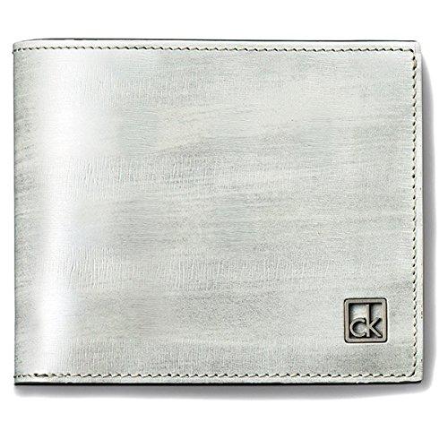 カルバン・クライン プラティナム(CalvinKlein platinum) 財布(二つ折り財布)【ホワイト/1サイズ】