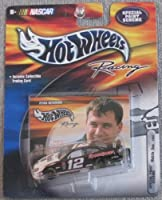 "Hot Wheels Racing - ""Special Paint Scheme"" - 2000 - Ryan Newman - No. 12 Mobil 1 Ford Taurus - 1:64 Scale Die Cast"