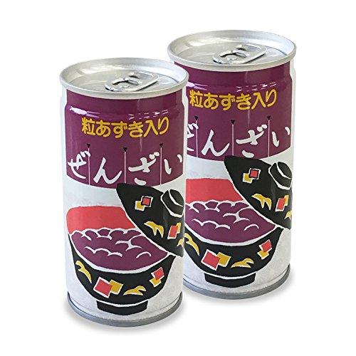 プラム食品 粒あずき入り ぜんざい 缶 190g×30本