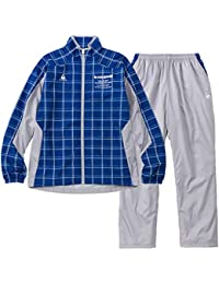 ルコックスポルティフ(le coq sportif) ウィンドジャケット&ロングパンツ 上下セット(セーヌブルー/ライトグレー) QMMMJF21-SBL-QMMMJG21-LGY