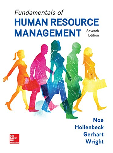 Download Loose Leaf for Fundamentals of Human Resource Management 1260152510