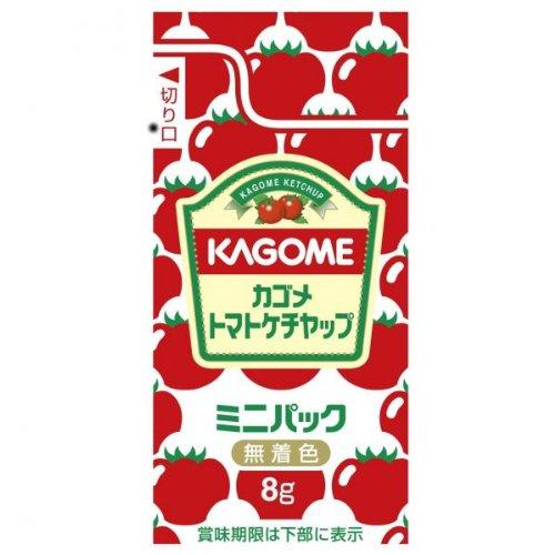 【業務用】カゴメ お弁当に最適! トマトケチャップミニパック 8g 40個【常温】