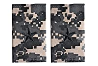 14 米陸軍 肩章 エポーレット 2枚入 階級章 准将 ワッペン レプリカ ピクセルグレー迷彩