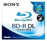 SONY 日本製 データ用BD-R 追記型 片面2層50GB 4倍速 スタンダード 単品 BNR2DBSJ4