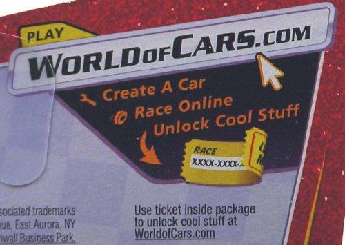 Disney / Pixar CARS Movie 1:55 Die Cast Car Series 3 World of Cars Ferrari F430 in Italian Package Chase Piece! by Mattel [並行輸入品]
