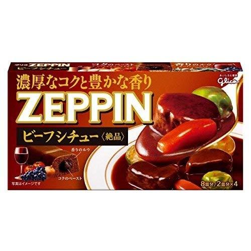 江崎グリコ ZEPPIN ビーフシチュー <180g×60個>