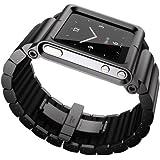 LunaTik LYNK ブラック 6世代ipod nano用 腕時計化キット