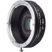 中一光学 (ZHONG YI OPTICS) フォーカルレデューサー マウントアダプター Lens Turbo II EF-m4/3 (キヤノンEFマウントレンズ → マイクロフォーサーズマウント)