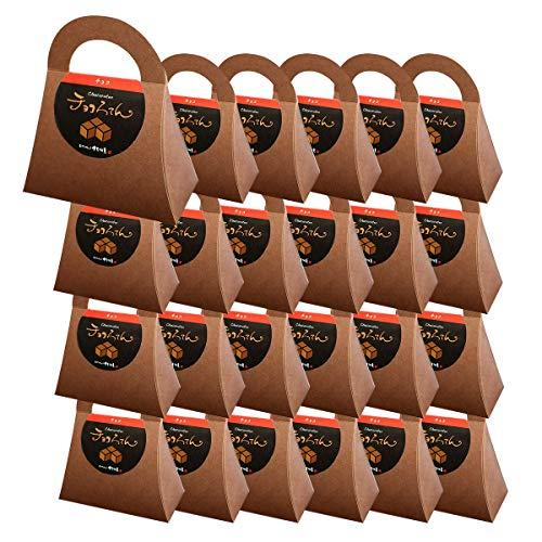 伊豆河童 チョコろてん 24個セット ダブルチョコ味 (カカオ入り角心太95g チョコソース12.5g×2 珈琲フレッシュ5g)×24 冬ギフト 向け