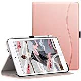 Ztotop iPad Mini5 2019 ケース 高級PUレザー製 オートスリープ機能 ペンシル収納 カードポケット付き 手帳型 全面保護 2019春発売の新モデルiPad Mini(第五世代)専用 スマートケース(ローズガーデン)