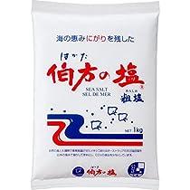 伯方の塩 粗塩 1kg