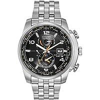 Citizen Men AT9010-52E Year-Round Analog Solar Powered Silver Watch