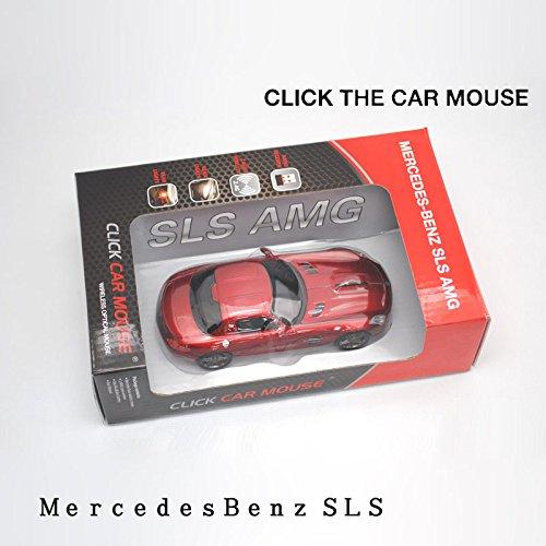 クリックカーマウス 無線マウス Mercedes SLS AMG サファイアレッド゛ 660257