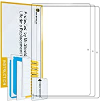 Mr Shield For Lenovo Yoga Book 10.1インチアンチグレア[ 3- Pack ]スクリーンプロテクター、生涯交換保証