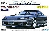 フジミ模型 1/24 インチアップシリーズNo.24 S15 シルビア スペックR/エアロ 窓枠マスキングシール付